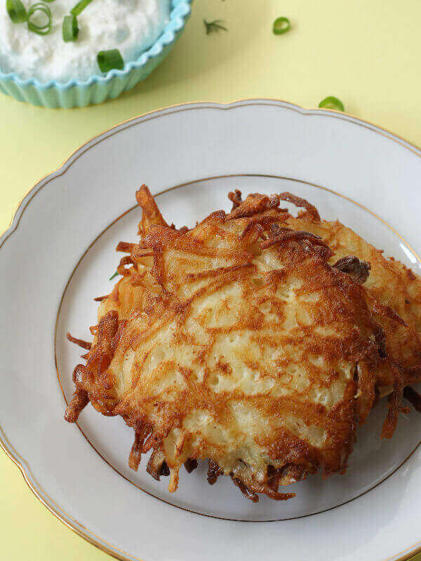 לביבות תפוחי אדמה בבלוג כל הדברים הטובים