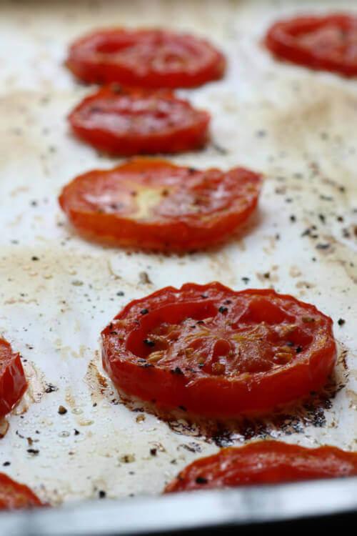 עגבניות צלויות בבלוג כל הדברים הטובים