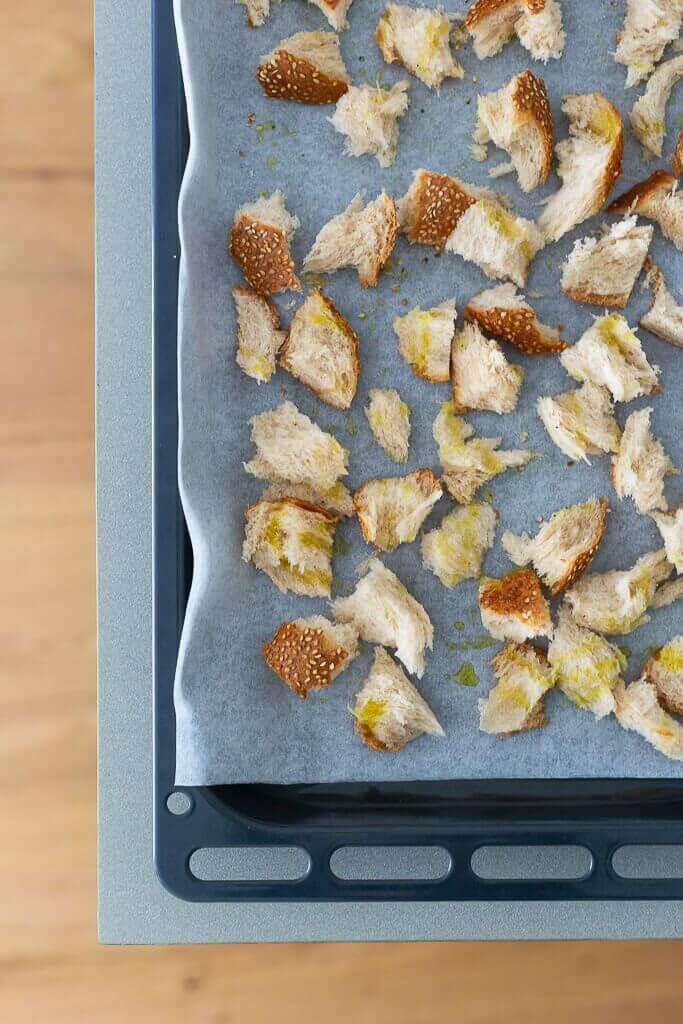 קרוטונים מלחם כוסמין בבלוג כל הדברים הטובים