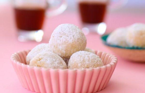 עוגיות שקדים מרציפניות ב-3 מרכיבים בלבד (ללא גלוטן)