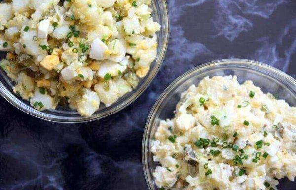 סלט תפוחי אדמה – סלט מיונז – סלט רוסי או איך שלא קוראים לו! (ללא גלוטן)